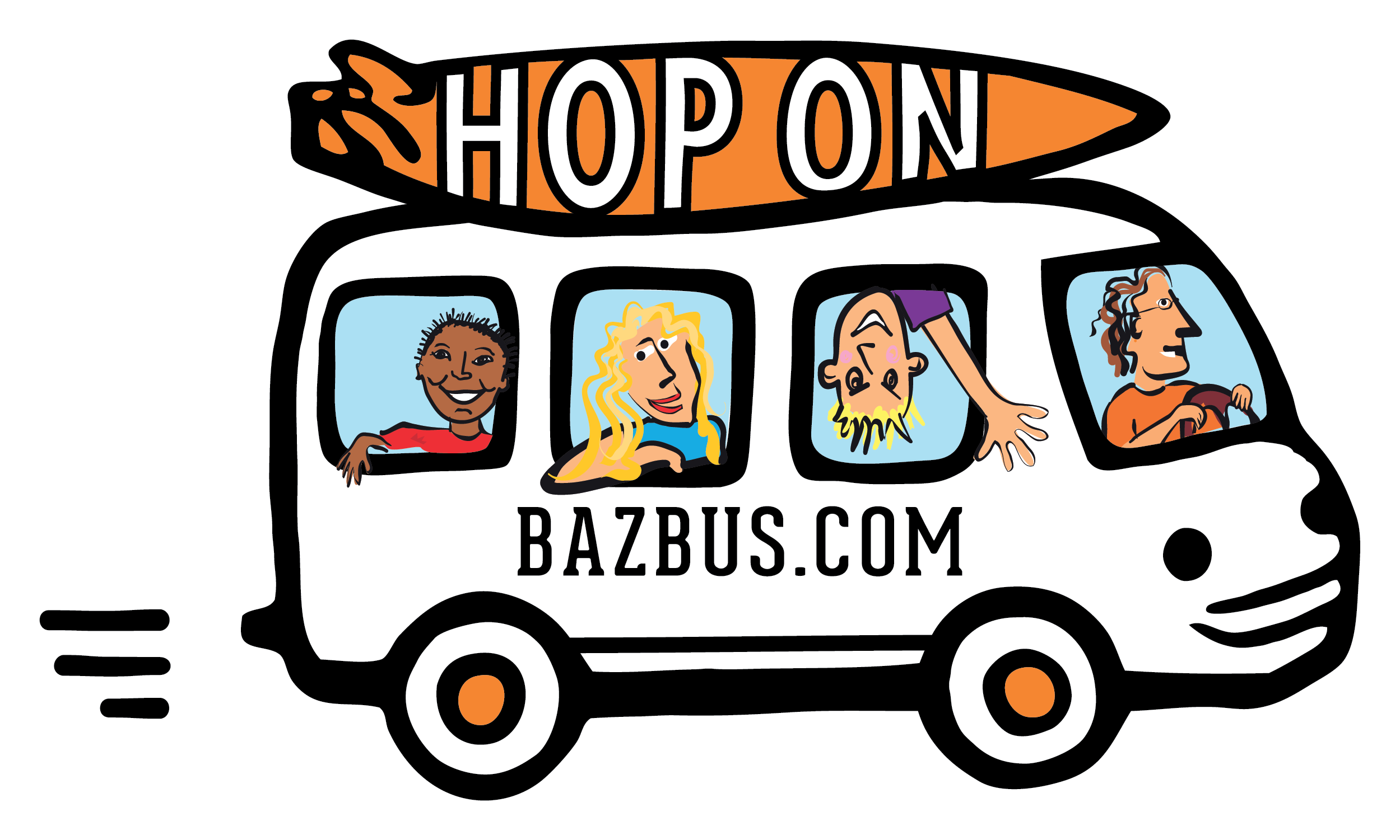 BUS ICON_with people