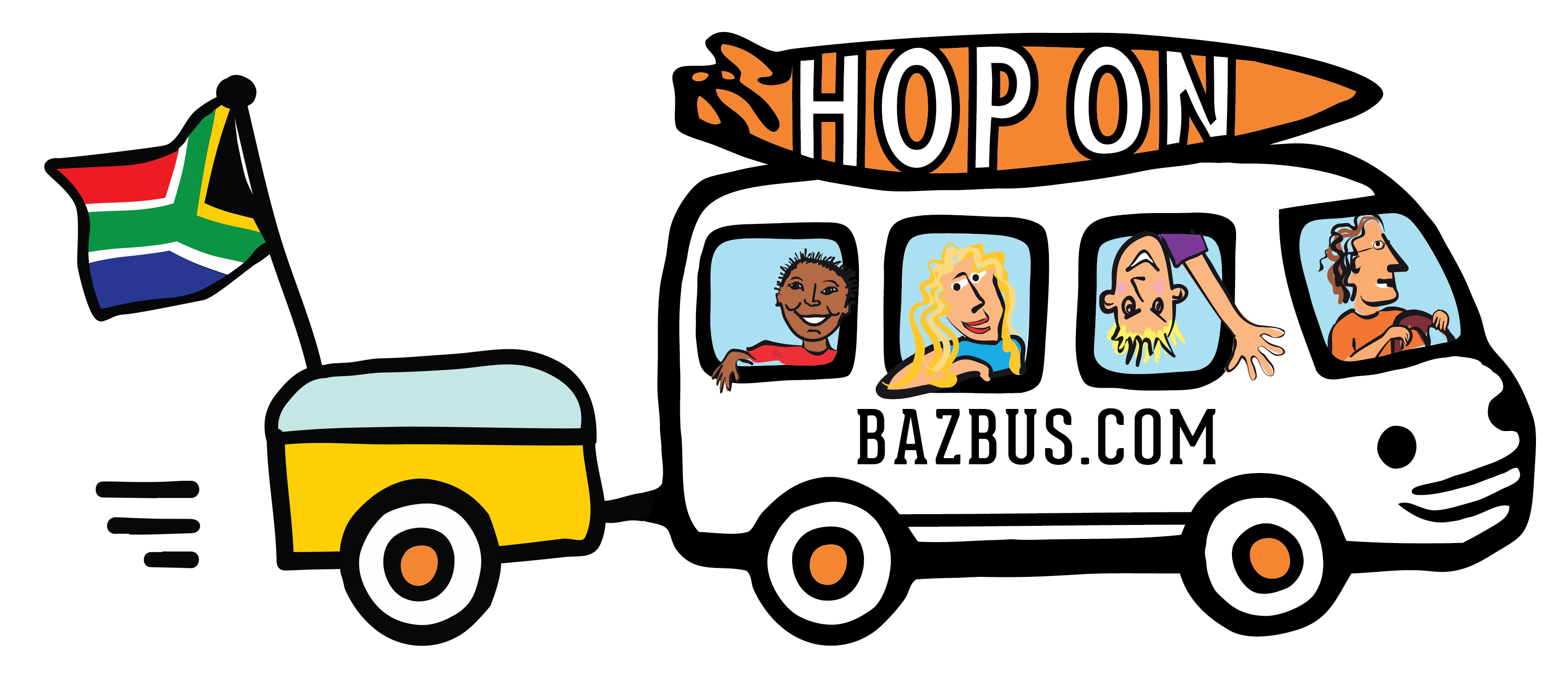 BUS ICON_with trailer & outline